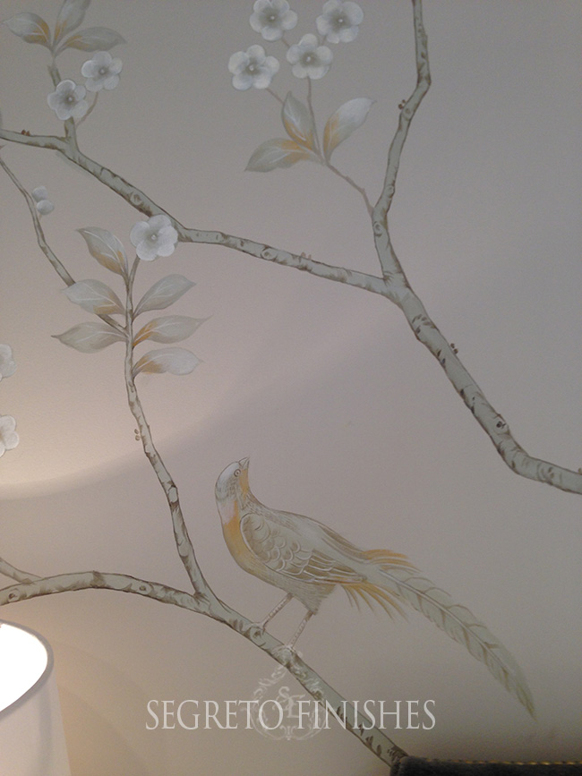 Segreto Secrets - I Love That Sample, Where Can It Go In My House - Bird and Tree Mural