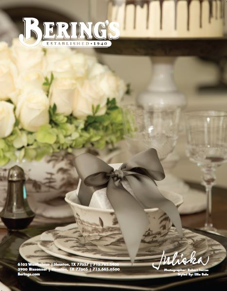 The Holiday Table & Bering's Book Give Away!