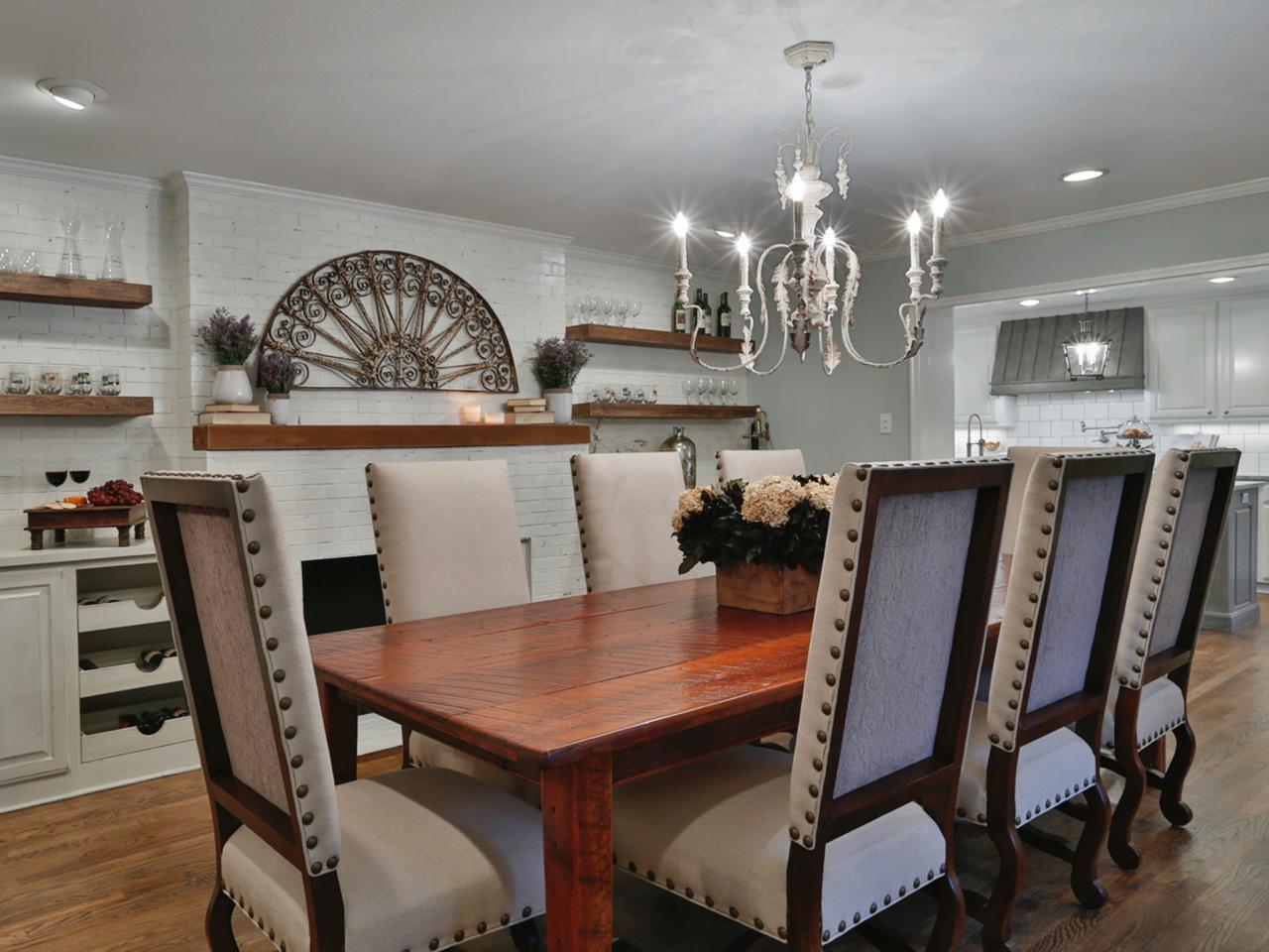 Hgtv fixer upper kitchen tables - The Final Reveal Segreto Secrets Blog