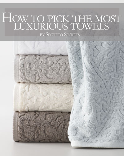 How To Pick The Most Luxurious Towels on a Budget!!