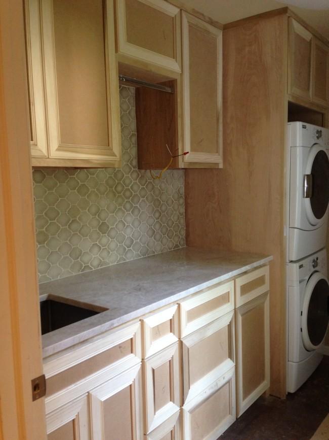 My Laundry Room Makeover- Segreto Secrets Blog.