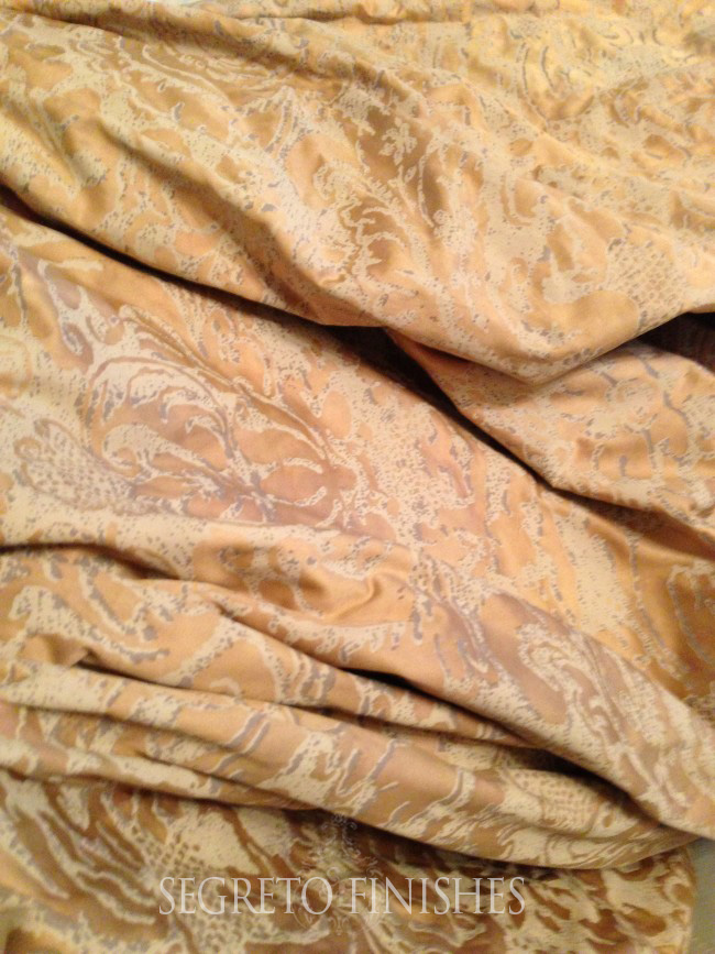 Antique Fortuny Fabric for My Dining Room - Leslie Sinclair of Segreto Secrets