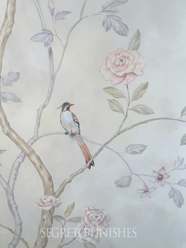 Segreto - Floral Mural for Jennifer Martinez Designer