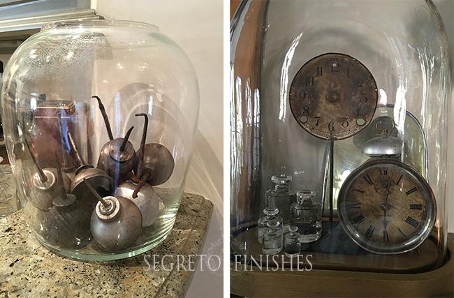 Segreto Secrets - Terrarium with Antique Objects