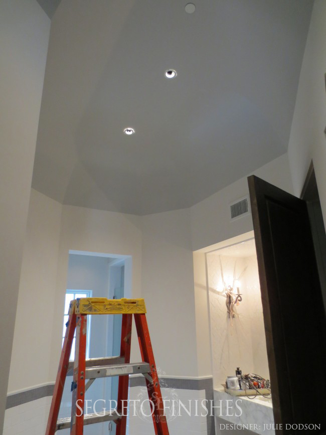 Special Ceiling by Segreto for Julie Dodson