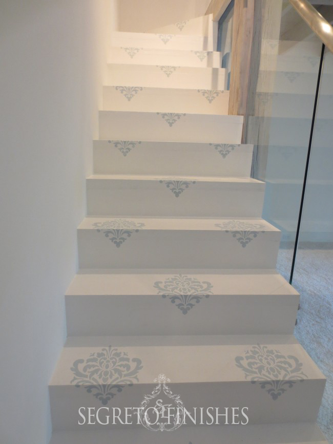 Staircase Embellishment with Segreto and Julie Dodson