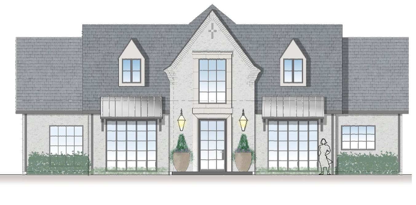 To See If My House Could Be Turned Into The Exterior Of My Dreams I Asked Architect Ken Newberry To Create An Exterior Plan He And His Team Will And Gina