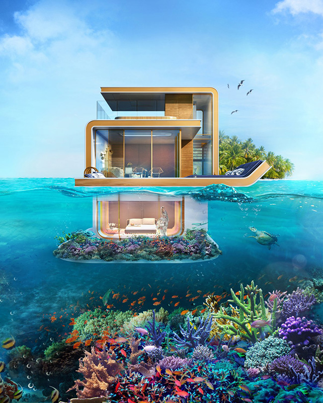 Segreto Secrets - Dream Vacation Home on A Private Floating Island