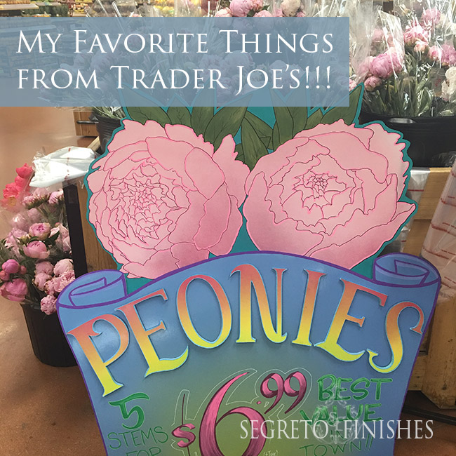 Segreto Secrets - Favorite Things at Trader Joe's - Fresh Flowers