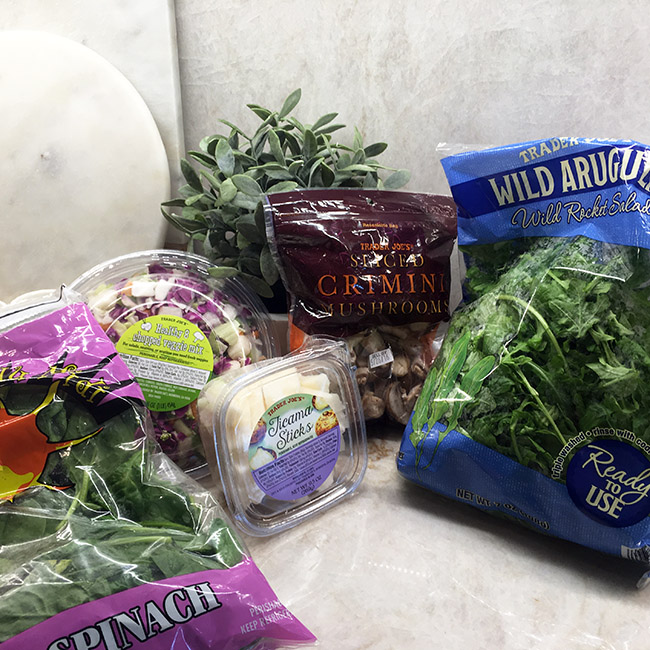 Segreto Secrets - My Favorite Things from Trader Joes - Fresh Vegetables