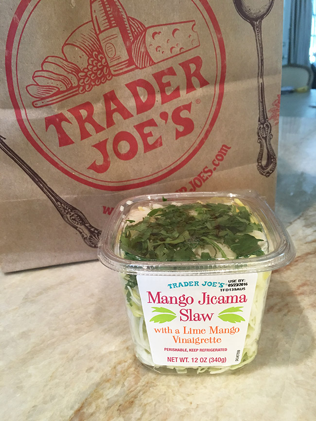 Segreto Secrets - My Favorite Things from Trader Joes - Mango Jicama Slaw