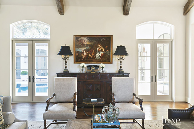 Segreto Secrets - Mediterranean Traditional Home Tour - Vignette with Tuscan Influence