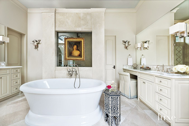 Segreto Secrets - Mediterranean Traditional Home Tour - Master Bathroom