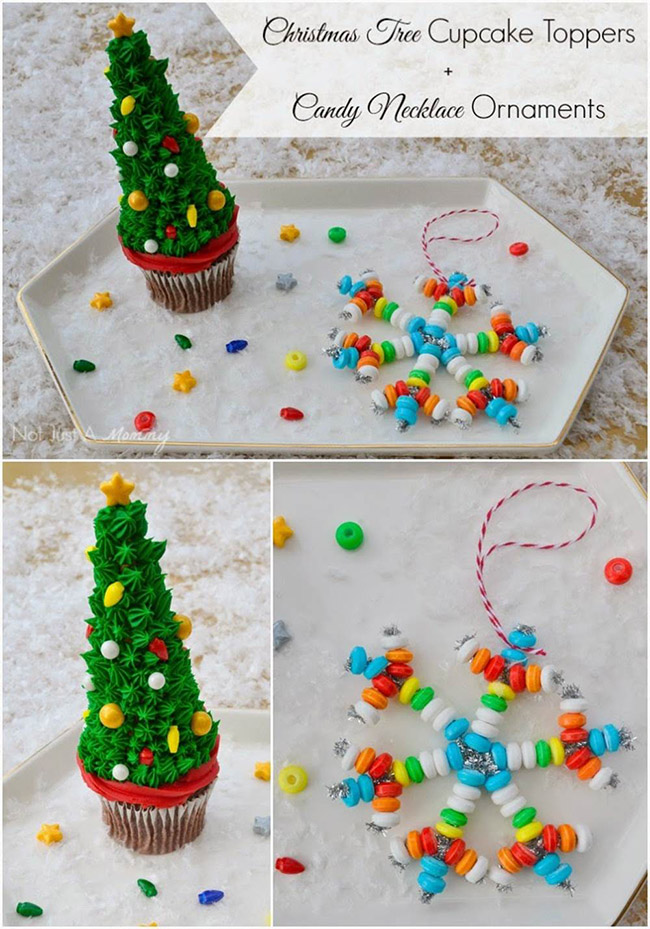 Segreto Secrets - Christmas Tree Crafts - Christmas Tree Shaped Cupcakes