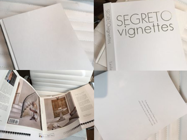 Segreto Vignettes! My Advanced Copy Has Arrived!!!