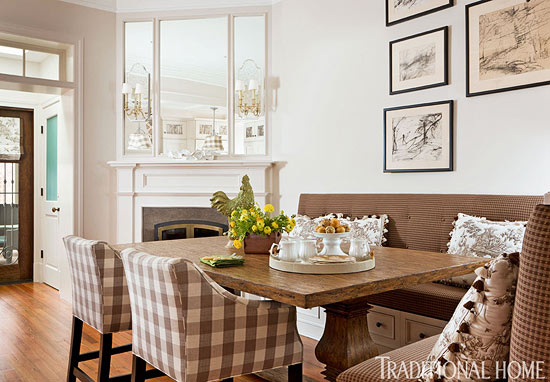 Image result for banquette seating home photos