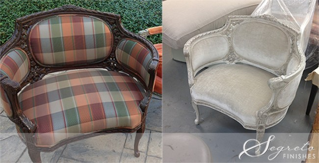 Design Project: Extreme Chair Makeover! Segreto Secrets Blog