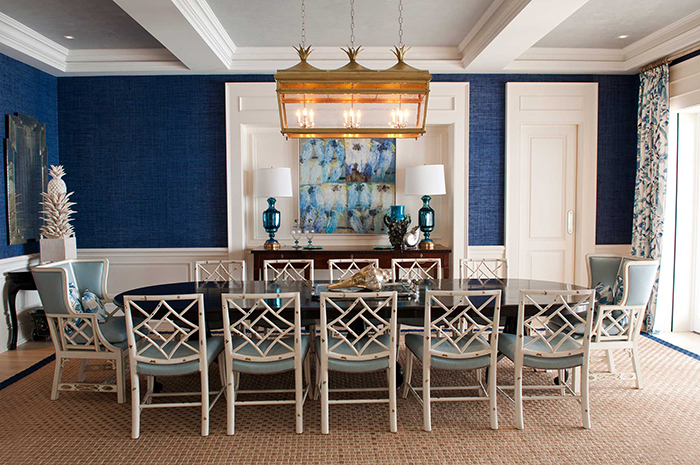 For This Eclectic Dining Room The Basic Belmont Style Lantern Was Redesigned And Made Into A Much Larger Three Light Fixture