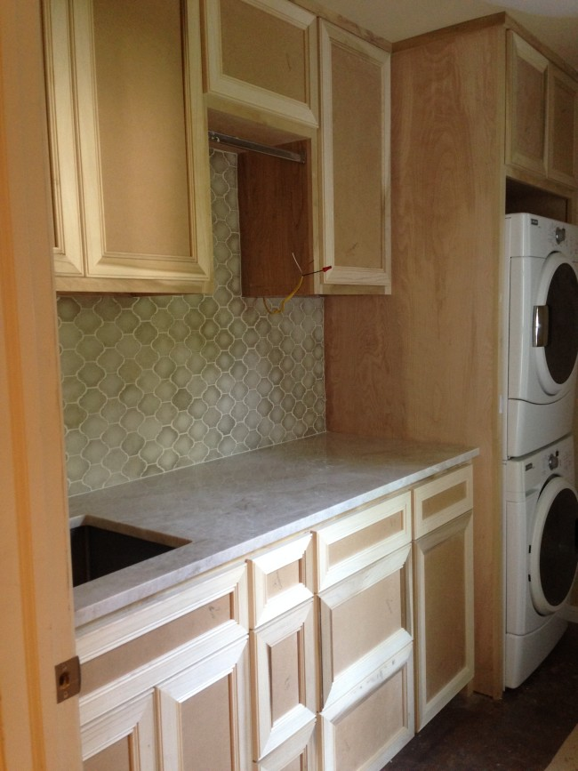 My Laundry Room Makeover- Segreto Secrets Blog.