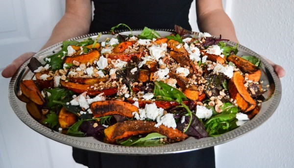 pumpkin salad - segreto secrets blog
