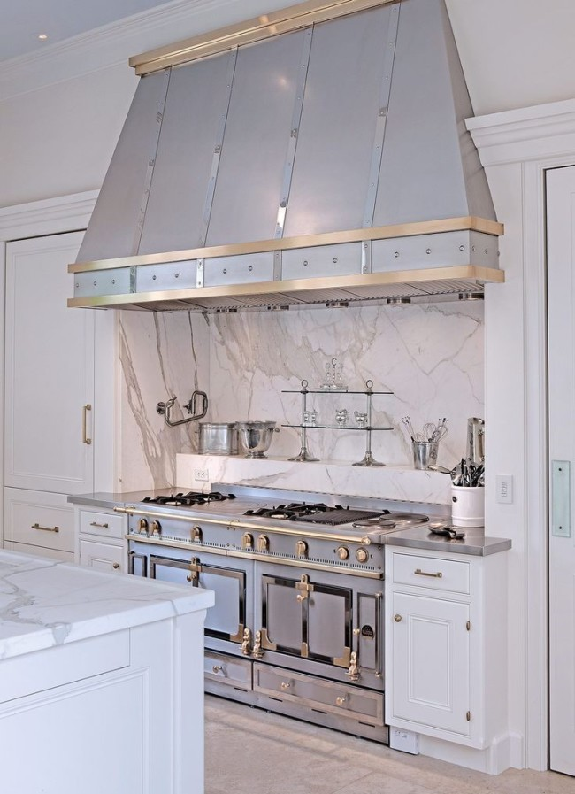 Silver Kitchen Hood Segreto Secrets Blog