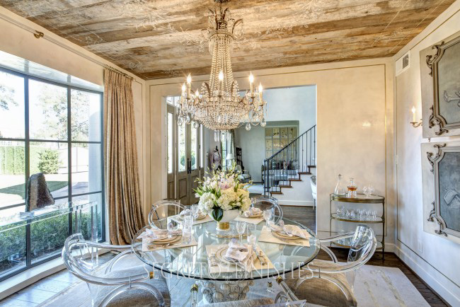 My Dining Room Finale - Leslie Sinclair of Segreto Secrets