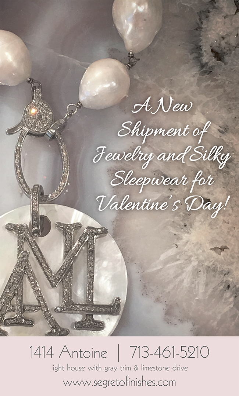 Segreto Boutique gifts for Valentine's Day