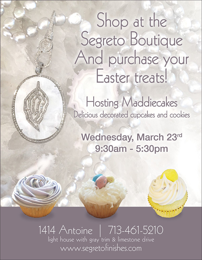 Easter at the Segreto Boutique with Maddiecakes
