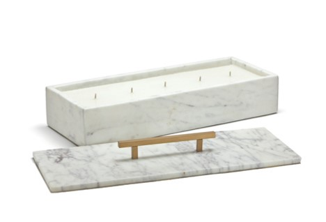 Leslie Sinclair's latest obsessions - marble candle box
