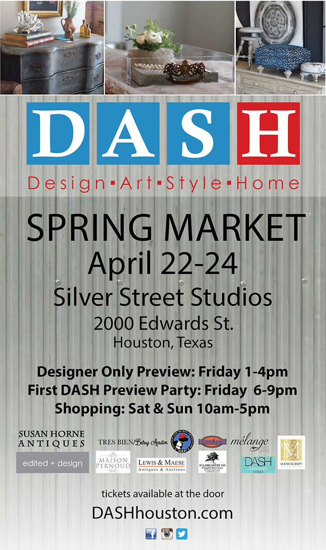 DASH Spring Market is coming up - Segreto