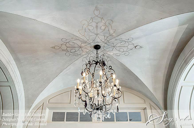 Ceiling Medallion Finish - Segreto Secrets