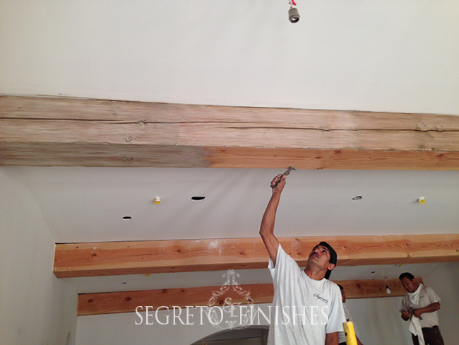 Transforming stained wood without stripping - Segreto Secrets Blog