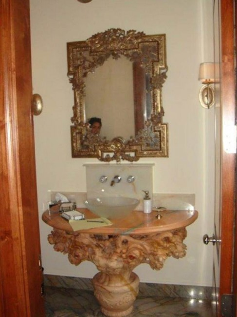 What Segreto Did Last Week! Segreto Secrets Blog! Powder Room Before Picture
