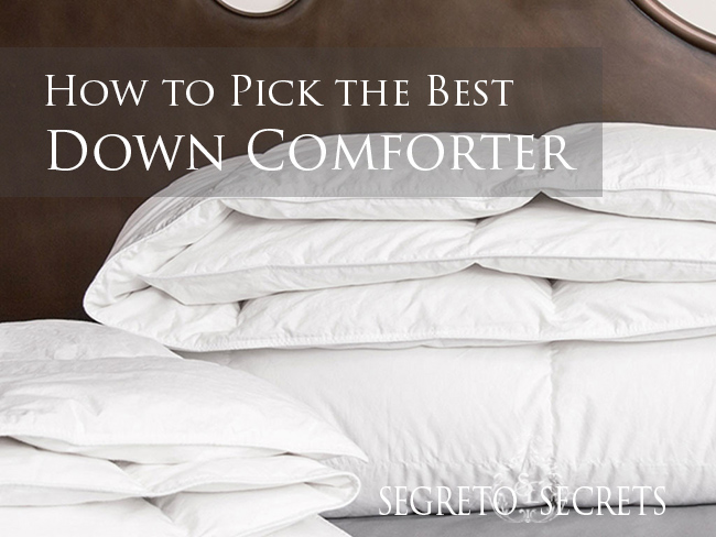 How to Pick the Best Down Comforter!