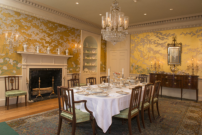 Segreto Secrets - Dining Room at Ima Hogg's Bayou Bend