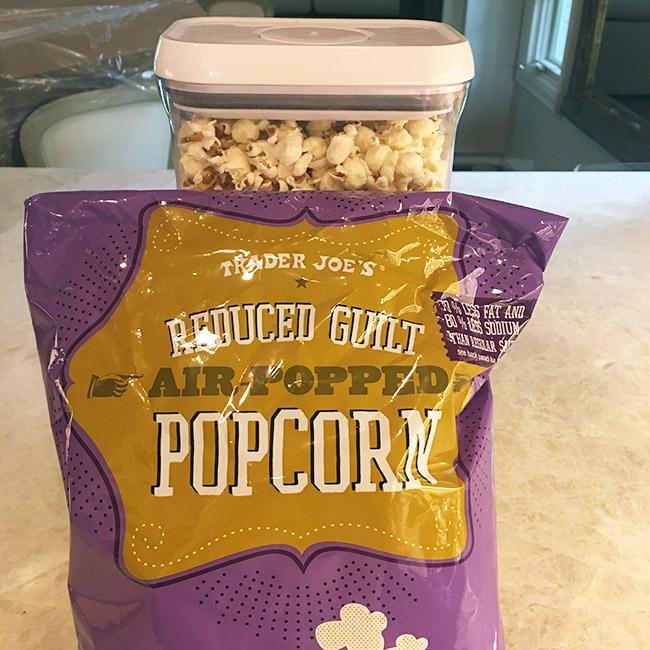 Segreto Secrets - Favorite Things at Trader Joe's - Reduced Guilt Popcorn