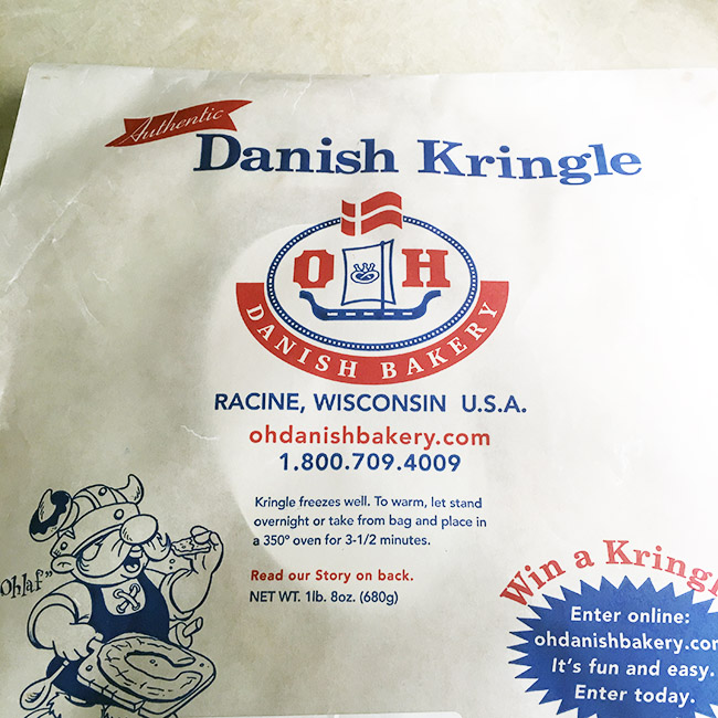 Segreto Secrets - My Favorite Things from Trader Joes - Danish Kringle from Wisconsin