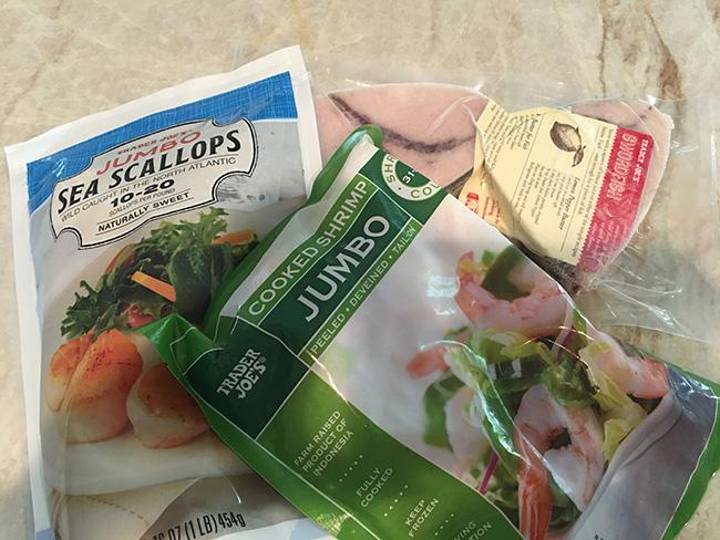 Segreto Secrets - My Favorite Things from Trader Joes - Jumbo Shrimp and Scallops