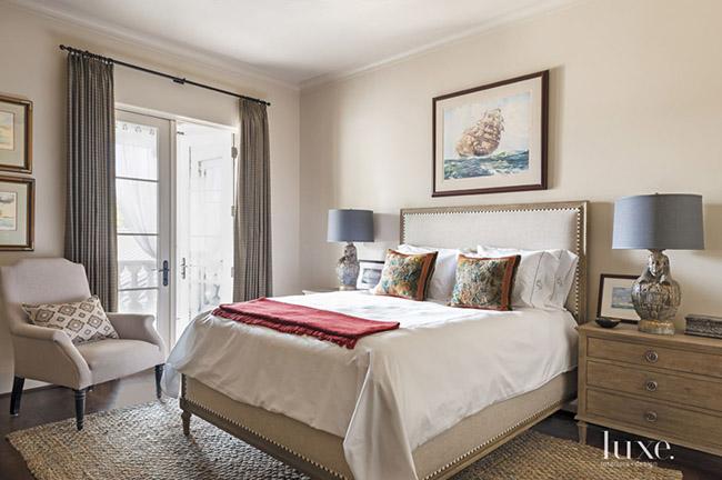 Segreto Secrets - Mediterranean Traditional Home Tour - Bedroom with Moroccan Influences