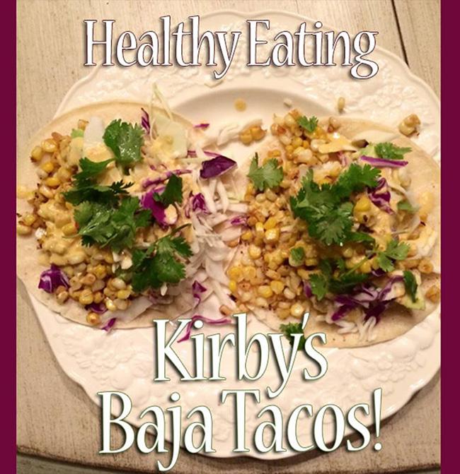 Segreto Secrets - Kirby's Baja Tacos with Shrimp and Corn