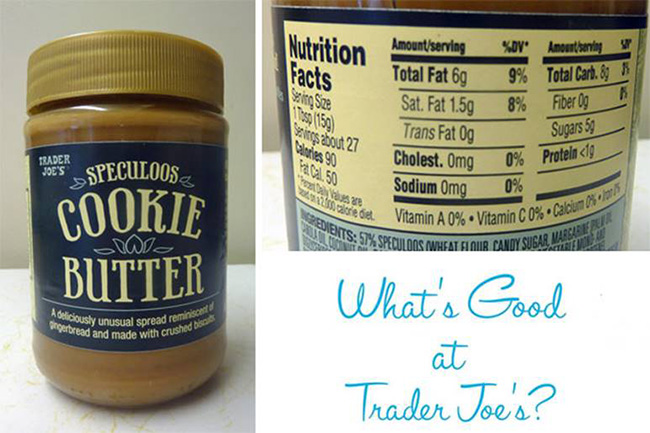 Segreto Secrets - Favorite Things at Trader Joe's - Cookie Butter