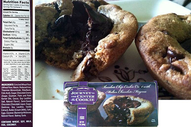 Segreto Secrets - My Favorite Things from Trader Joes - Cookie with Chocolate Center