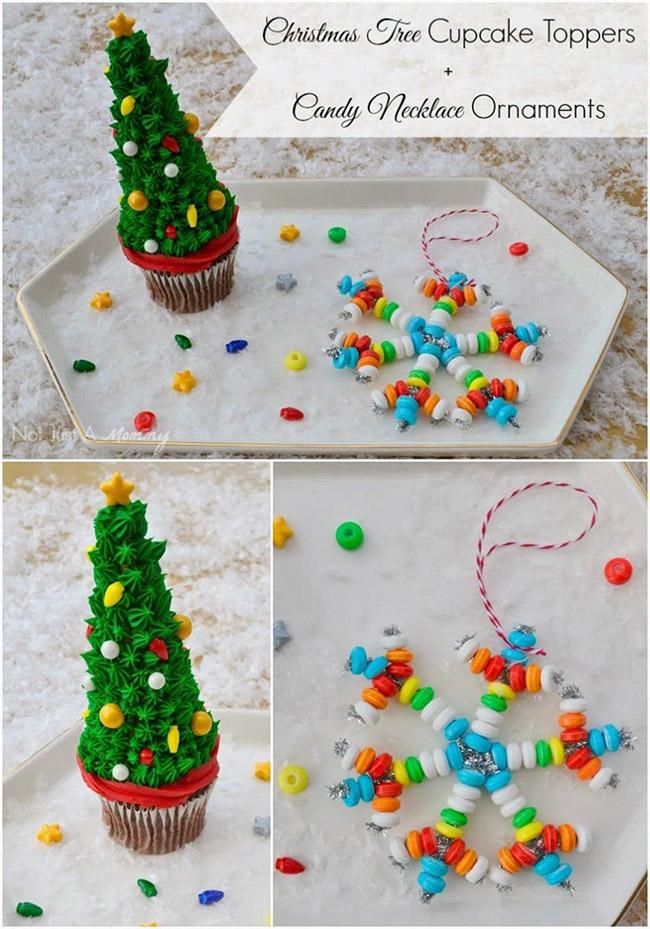 Segreto Secrets - Christmas Tree Crafts - Christmas Tree Shaped Cupcakes