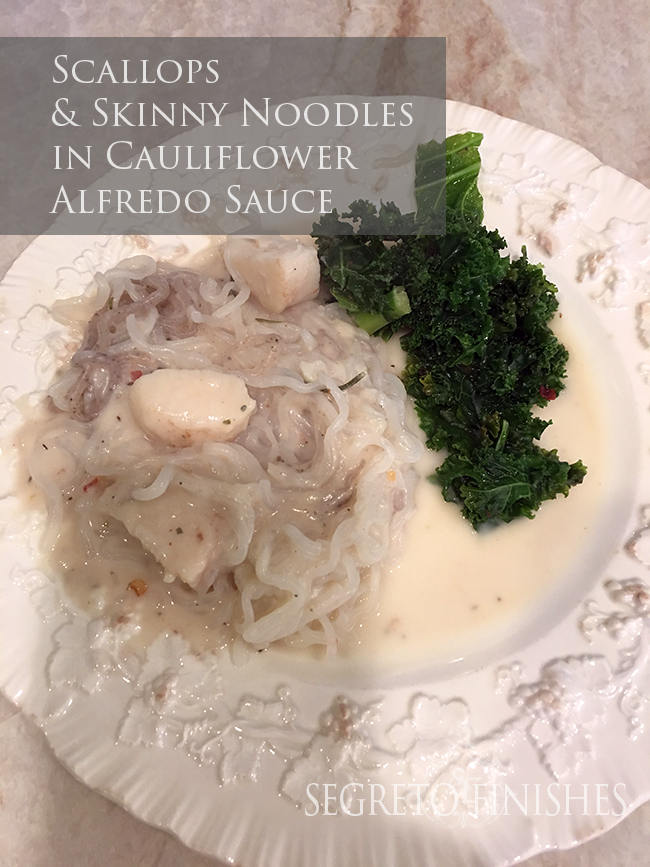 Healthy Alfredo Sauce Made from Cauliflower - Segreto Secrets