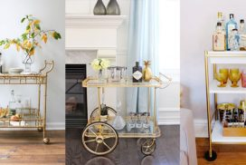 Styling Your Bar Cart!