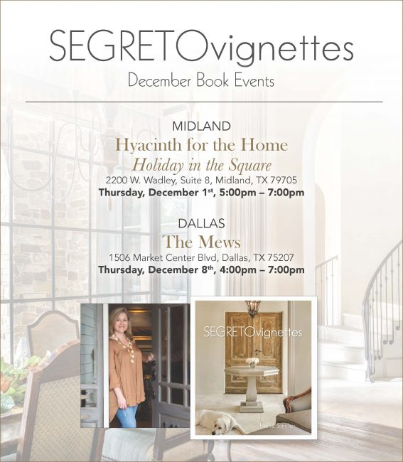 Segreto Secrets! A Home Ready to Give Thanks!