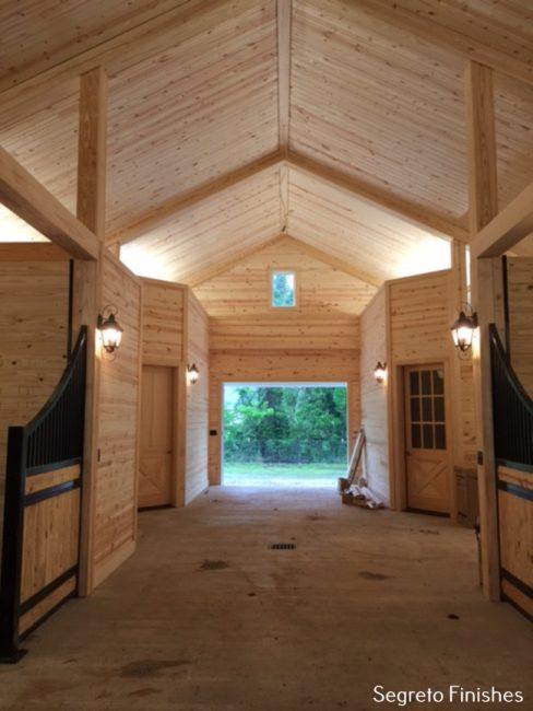 A Home For Horses Segreto Finishes