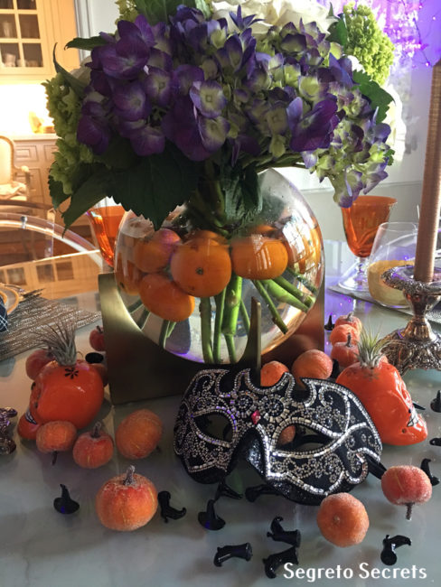 Halloween Centerpiece Segreto Finishes