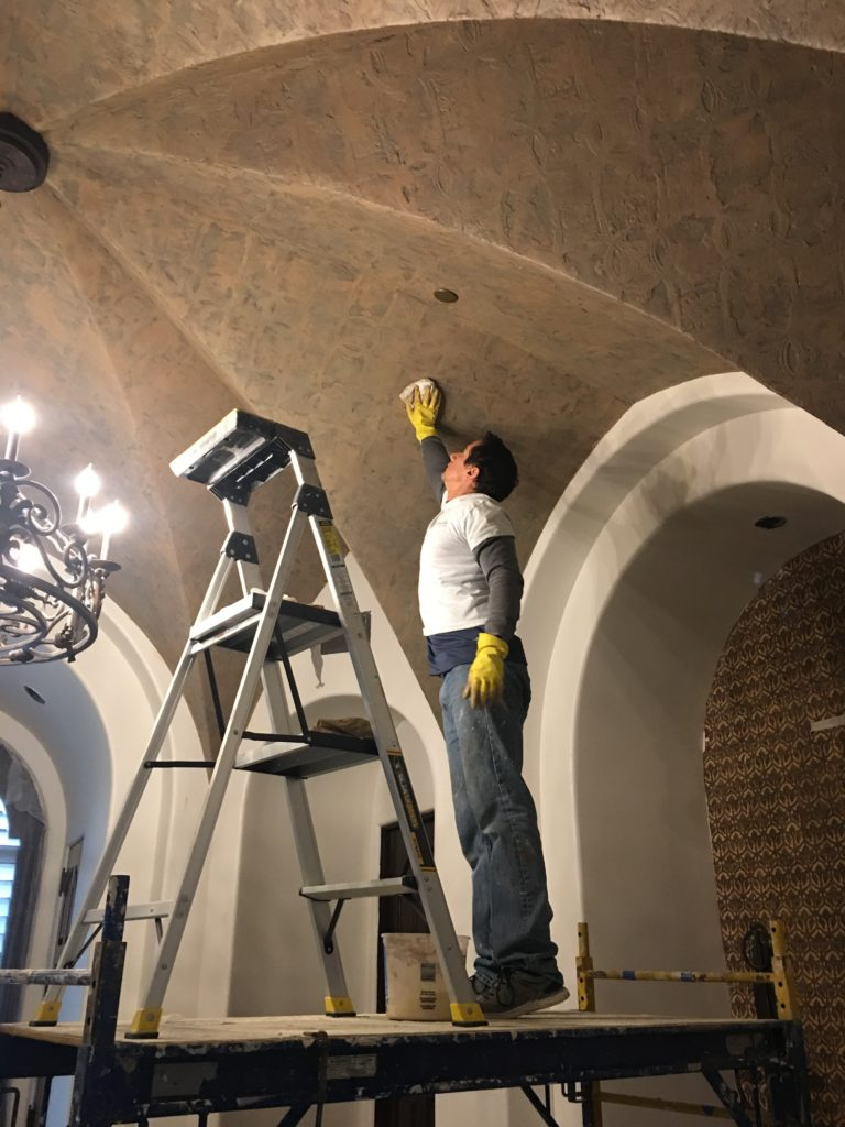 Segreto Finishes Plaster Ceiling