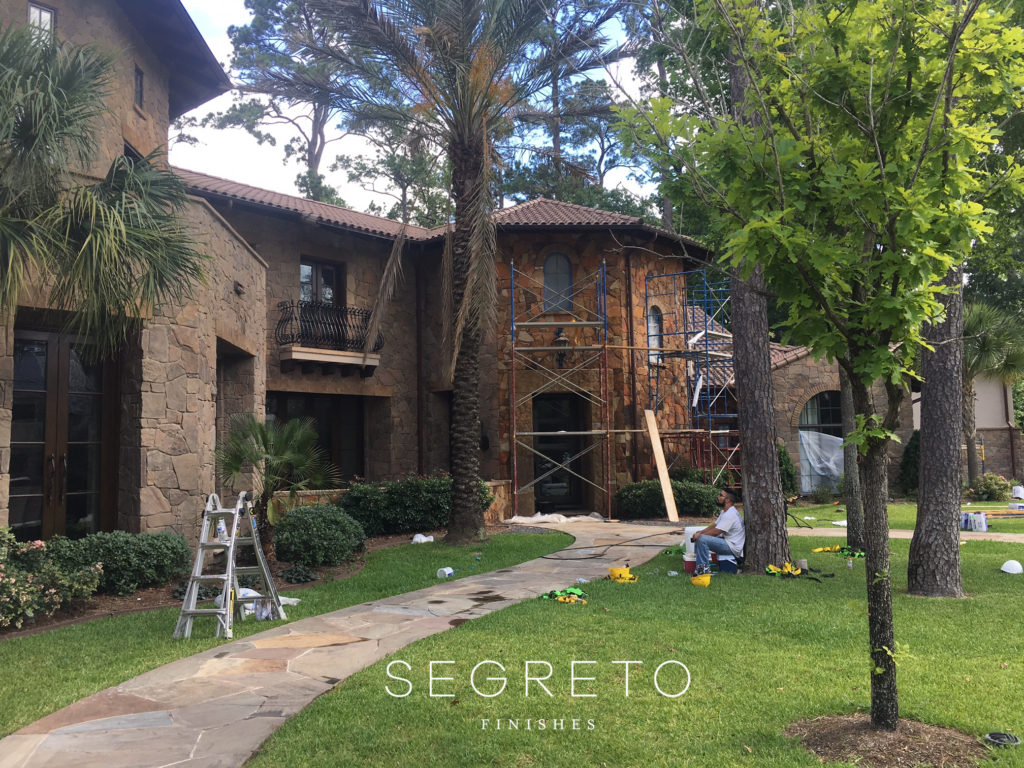 Segreto Finishes Stucco